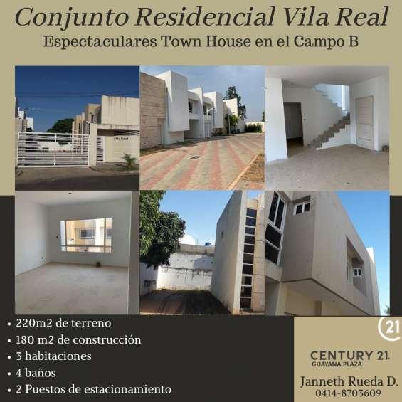 Venta de casa en puerto ordáz - campo b - villa real