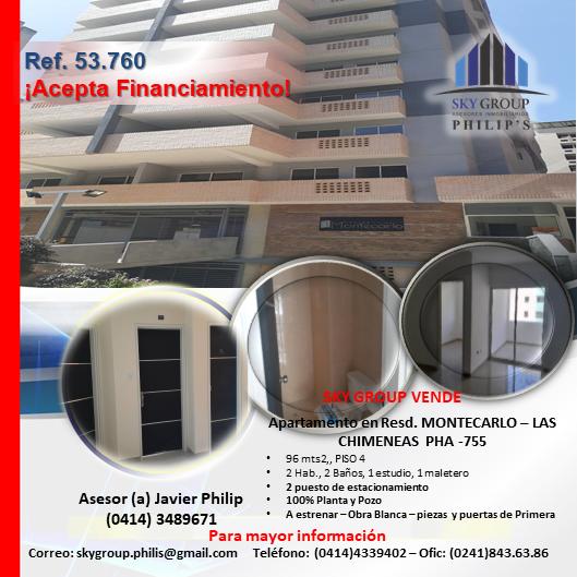 Apartamento, resd. montecarlos – las chimeneas pha-755