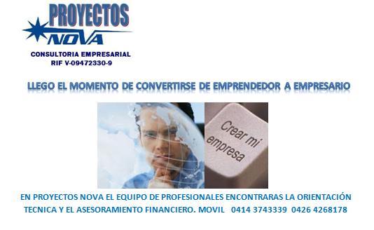 Se solicita asesor de proyectos & negocios